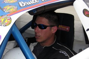 Bruce Thomas in car (Courchesne)